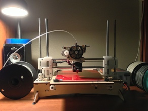 Printrbot + Upgrades [X-bridge, Extruder Mount, Y-Clips...]