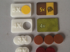 Agricola Playing pieces
