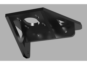 Z-Axis Stepper Bracket for TEVO Tarantula