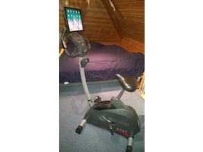 iPad holder for hometrainer