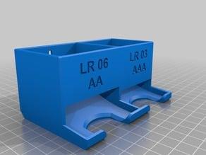 Boitier Pile LR 03 AAA et LR 06 AA