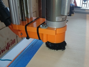 Stepcraft Dust extraction