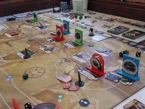 Gates for Arkham Horror (tm) the boardgame (can be used for Eldritch Horror also!)