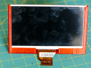 7 inch RPi LCD Display basic stand