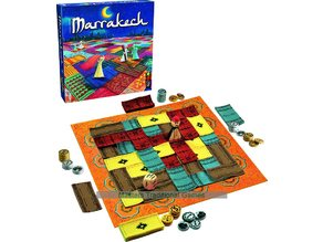 Marrakech Board Game (Assam and Dice game Pieces)