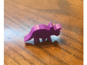 Triceratops Meeple