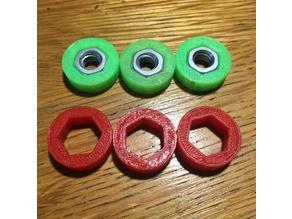 Spacer for fidget spinner