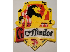 Gryffindor Harry Potter multimaterial (Prusa MMU1 & MMU2)