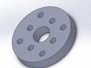 Mounting plate for Zyltech Anti-backlash nut