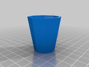 Octagonal Shot Glass