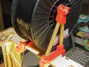 Thing-O-Matic Filament Spool Bracket