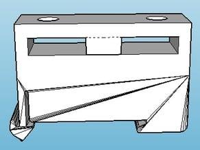 DIN rail fuse holder