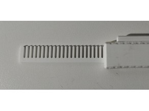 Comb for switch blade