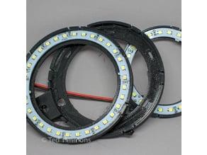 Angel Eye LED holder, 100mm & 80mm, remix