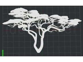 Tree 2D Wall art