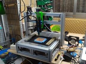 Make a CNC ! ! 1/18~New CV3 ! !