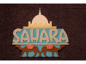Sahara Casino Sign - Las Vegas