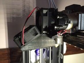 M2 v4 dual extruder fan shroud