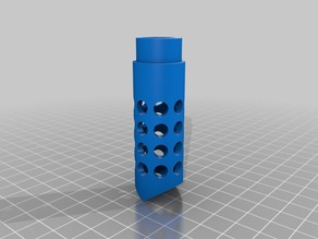 airsoft muzzle brake/flash hider