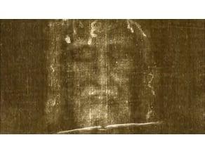 Turin shroud lithophanes