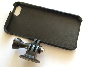iPhone 5S case with gopro mount for Makerbot Repilcator 2X