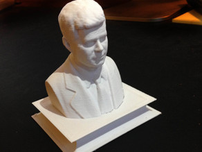 Presidents' Day Commemorative - John F. Kennedy (Bust and Plinth)