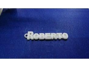 Keychain - ROBERTO