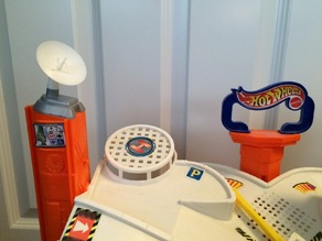 Hot Wheels Radar Dish