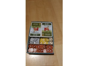 Machi Koro base game and expansion in one box