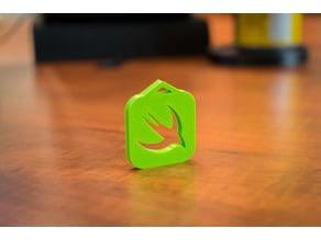 Swift Logo Keychain