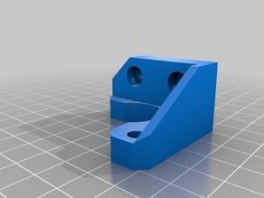 Stepper mount 2040 aluminium profile (PK6)