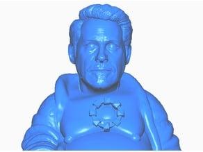 Tony Stark Buddha w/reactor