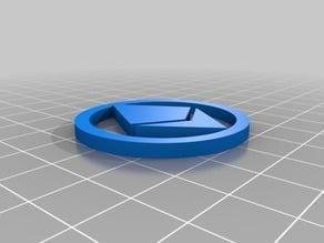 Ethereum Digital Coin 40x3mm v1