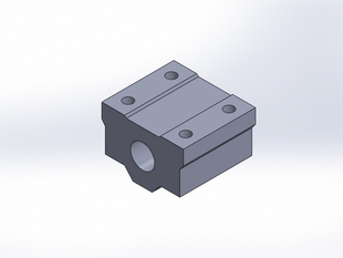 Pillow Block to Bush 8mm