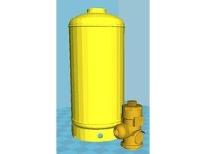 Kidde FM200 / Novec1230 Clean Agent Fire Suppression System 8L Cylinder