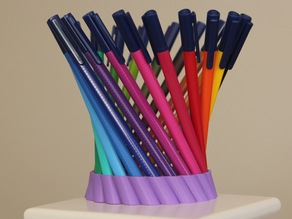 Hyperboloid pen holder Remix