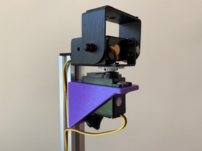 V-Slot extrusion servo mount