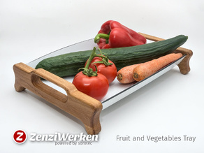 Fruit and Vegetables Tray cnc