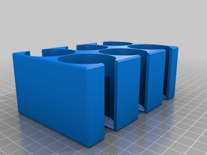 Round 2x3 tile storage