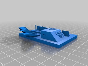 FDM Test Model - Overhangs, Small features, Accuracy, Calibration