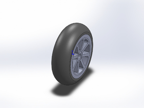 35mm x 12mm RC Wheel and Tire