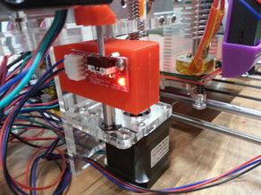 Sunhokey Prusa i3 Precise Z Homing System (+ Cura Settings and X endstop)