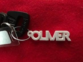Oliver keychain