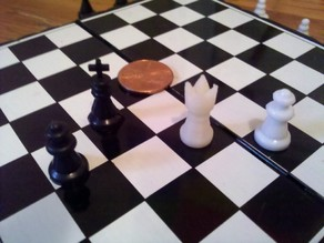 Replacement King for Travel Chess Set