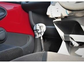 Citroen C1 Terminator T800 skull gear knob