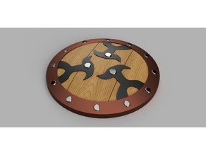 Braced Shield from Skyward Sword