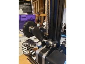 Ender 3 Filament Guide for 606zz bearings