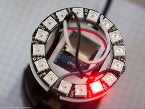 Neopixel ring shield for WeMos D1 mini