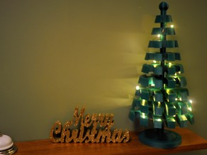 LEGO inspired christmas tree