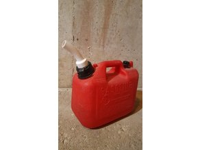 Gasoline Can Spout (Jerry can spout)